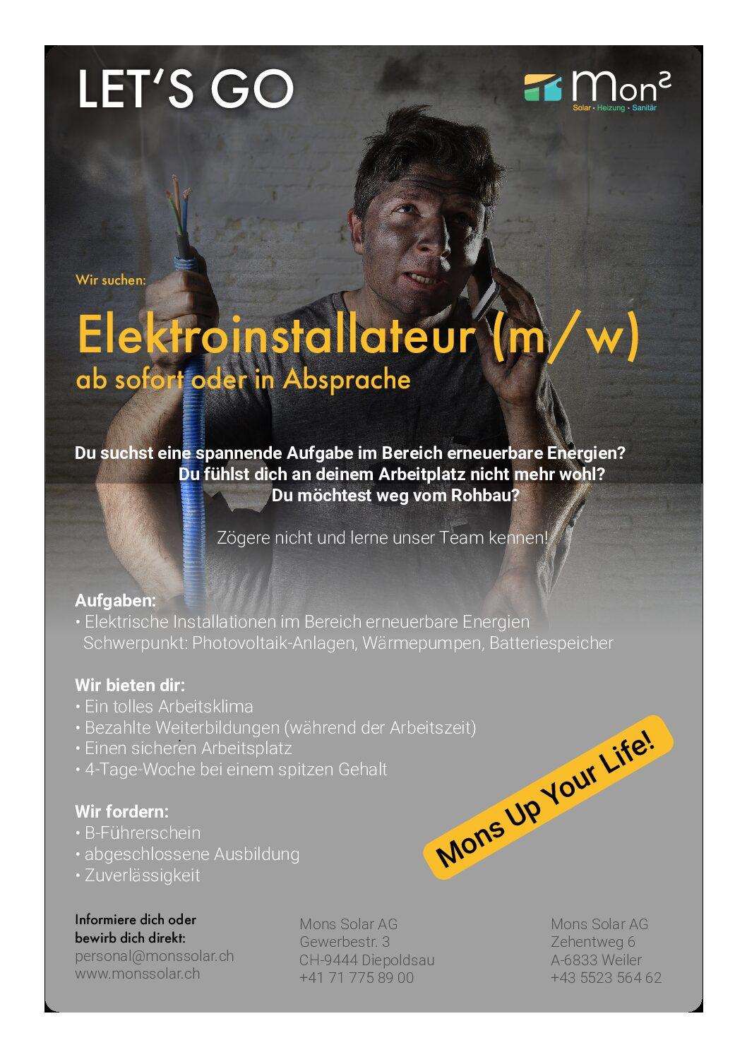 Elektroinstallateur Lustig